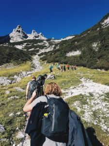 an addiction recovery hiking pilgrimage